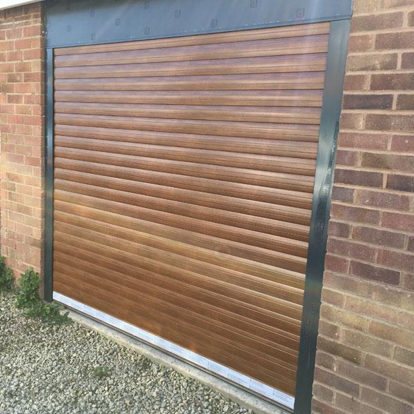 Roller Shutter Garage Door